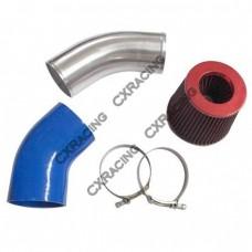 "4"" Turbo Air Intake Kit for 88-92 Toyota Cressida MX83 1JZ-GTE Swap Sinlge Turbo"