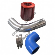 "3"" Turbo Intake Kit For 1JZGTE VVTI 1JZ 1JZ-GTE Motor Stock Turbo S13 S14 Swap"