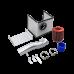 "Cold Air Intake Kit For 2016+ Toyota Tacoma 2GR-FKS V6 3.5"" Pipe"