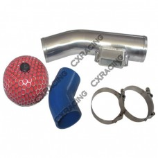 "3"" Turbo Intake Pipe Filter kit For BMW E36 2JZ-GTE Swap 2JZGTE Stock Turbo"