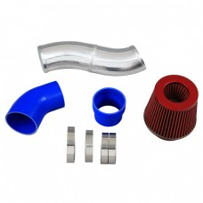 "3.5"" Air Intake Pipe + Filter For Toyota MK4 Supra 2JZGTE 2JZ-GTE CAI"