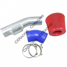 Air Intake Pipe Filter Kit For 86-92 Supra MK3 2JZ-GTE Twin Turbo 2JZGTE 2JZ