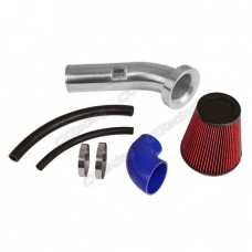 "4"" Velocity Stack Air Intake Pipe 6"" Filter For 15-17 Mustang GT V8 5.0L"