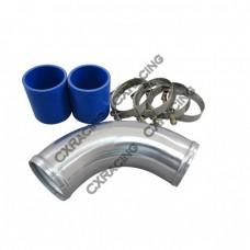 """05-08 Audi A4 B7 2.0T turbo Air intake pipe 2.75"""" Aluminum"""