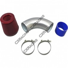 """4"""" Turbo Intake pipe Filter For 240SX S13 S14 RB20/25DET Top Mount Turbo RB"""