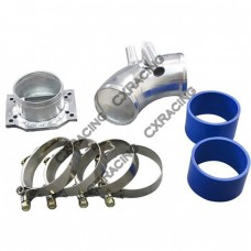 Intake Piping MAF Flange + Air Intake pipe kit For BMW E30