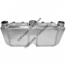 "Liquid Water to Air Intercooler 29""x13""x4.5"", 4.5""Dual Core: 10""x9""x4.5"""