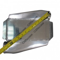 """Liquid Water to Air Intercooler, Core: 10""""x5""""x4.5"""", 4.5"""" Core, 3"""" Air Inlet & Outlet"""