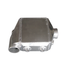 """Liquid/Water to Air Intercooler 16""""X11""""X4.5"""",4.5"""" Thick,3"""" Air Inlet Outlet"""
