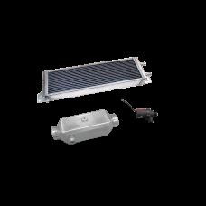 Aluminum Heat Exchanger Liquid Water to Air Intercooler Pump Kit