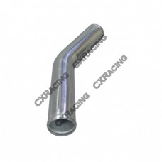 "2.75"" 30 Degree Bend Aluminum Pipe, 2.0mm Thick Tube, 18"" Length"