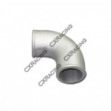"2"" Cast Aluminum 90 Degree Elbow Pipe Turbo Downpipe"