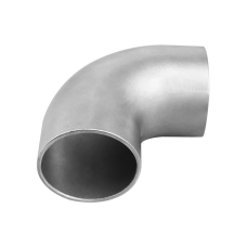 """2.5"""" Cast 304 Stainless Steel 90 Degree Elbow Pipe Tube Tight Radius Header Manifold"""