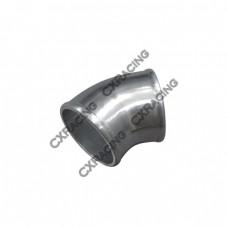 "3"" Cast Aluminum 45 Degree Elbow Pipe Turbo Intercooler Polished"
