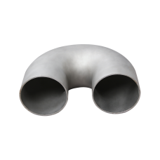 """4"""" Cast 304 Stainless Steel 180 Degree Elbow U Pipe For Turbo Header Manifold Downpipe"""