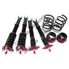 Suspension Kit For 03-07 350Z Z33 G35; Spring Rate: Front 14kg / Rear 10kg