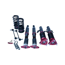 Damper Camber Plate CoilOvers Suspension Kit For 05-12 VOLVO S40 FWD