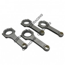 H-Beam Connecting Rods (4 PCS) for Honda Civic Acura Integra, with B18A Engines
