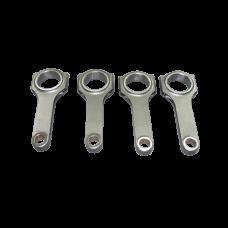 "H Beam Rod Rods 4 pcs For Mazda Miata 323 1.6 1.8 B BP 5.230"" Length"