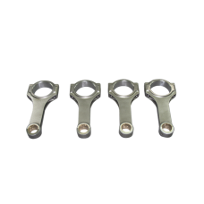 "H Beam Rod Rods 4 pcs For 90-05 Impreza Legacy WRX EJ20 EJ25 5.138"" Length"