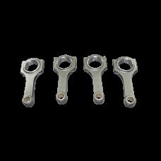 H-Beam Connecting Rod 4 Pcs For Honda K20 Stroker +9.50mm 148.5mm Rod Length