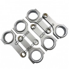 H-Beam Connecting Rods (6 PCS) for VW with V6 Engines 2.6L, 2.7 T 30V, 2.8L 12V