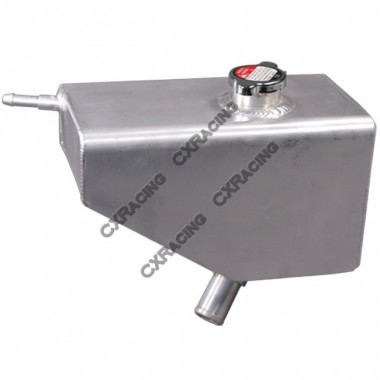 Aluminum Coolant Overflow Fill Tank For 05+ Mustangs