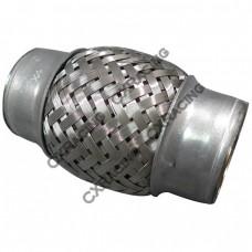 "1.5"" X 4"" Stainless Steel Downpipe Exhaust Muffler Flex Pipe"