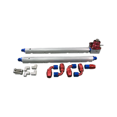 Billet Fuel Rail Fitting AN6 + Regulator + Oil Fitting For GM LS1 LS2