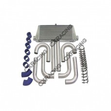 "31x12x3 inch Universal Intercooler + 3"" Piping Kit For LANCER"