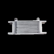 "Aluminum Oil Cooler 6.5"" Core 10 Row AN6 Fitting Hi Performance"