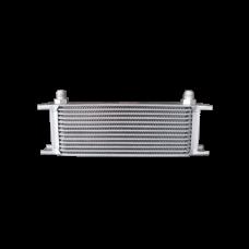 "Aluminum Oil Cooler 11"" Core 13 Row AN8 Fitting Hi Performance"
