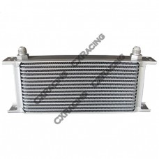 "Aluminum Oil Cooler 11"" Core 16 Row AN8 Fitting Hi Performance"