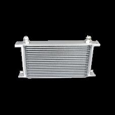 "Aluminum Oil Cooler 11"" Core 19 Row AN8 Fitting Hi Performance"