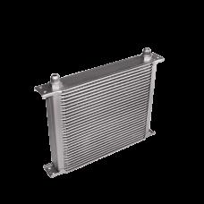 "Aluminum Oil Cooler 11"" Core 30 Row AN10 Fitting Hi Performance"