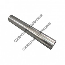 """3.5"""" Straight 304 Stainless Steel Exhaust Downpipe Catback Pipe"""