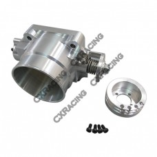 Q45 80mm Billet Aluminum Throttle Body for NISSAN SKYLINE Silvia S13 S14 S15 RB20DET RB25DET