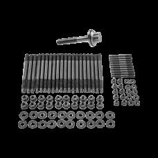 Head Stud Bolt Kit  + Crank Crankshaft Bolt for GM Chevy GEN IV LS9 LQ9 6.0L 6.2L Engine