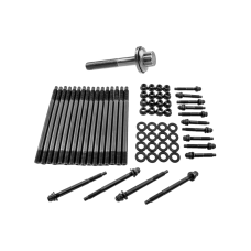 Head Stud Kit + Crank Crankshaft Bolt for GM Chevy LS/LM Engine LS1 LS3 5.3L 5.7L 96-03