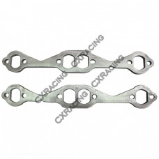 Stainless Steel SBC Exhaust Header Flange For Chevy Small-Block 262 283 305 327 350