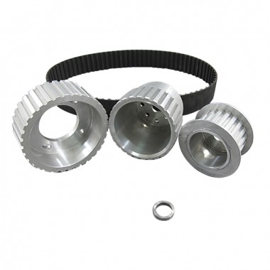 Gilmer Drive Pulleys For 12A/13B/20B, Fits 17mm Alternator Center Hole