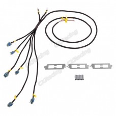 LQ9 LQ Coil Pack Aluminum Bracket Wire Harness For 2JZGTE 2JZ-GTE