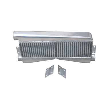 Intercooler + Mounting Bracket For 1965–70 Chevy Impala Twin Turbo