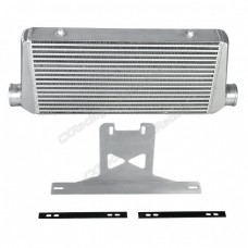 "3"" Core Intercooler + Mounting Bracket Kit For 2015 + Ford Mustang GT V8 5.0"