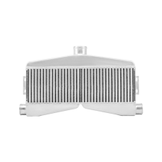 """Universal 2 in 1 out Twin Turbo Intercooler 24""""x7""""x3.5"""" Core Size"""