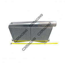 """Universal 27""""x16.5""""x3.5"""" Twin Turbo Intercooler 2.5"""" Inlet & 3"""" outlet"""