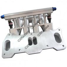 Lower Intake Manifold For Mazda 13B REW Rotary Engine 4 Port RX7 FD