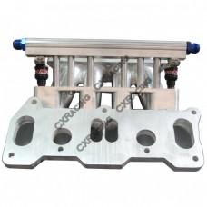 Lower Intake Manifold For Mazda 13B REW Rotary Engine 6 Port RX7 FD