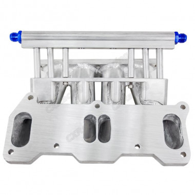 Lower Intake Manifold For Cosmo 13B RE Rotary 4 Ports Fuel Rail