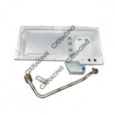Aluminum Oil Pan For 89-00 Nissan 300ZX Z32 GM LS1/LSx LS Swap